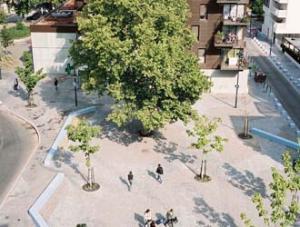 "Refurbishment of vacant spaces in ""Les Courtillières"""