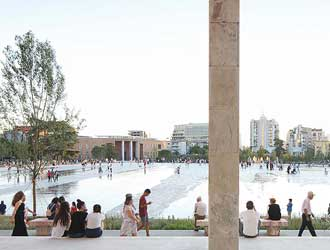 Tirana's Skanderbeg Square and Its Civic Dimension: How One Public Space Can Save Another