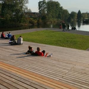 Rearrangement of Ljubljanica riverbanks