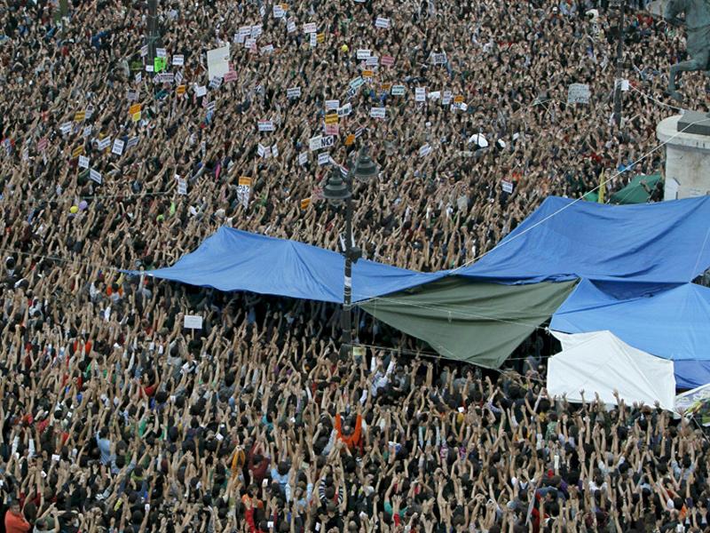 """Occupy Puerta del Sol"""