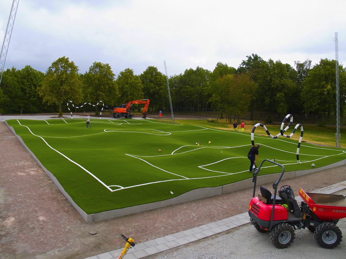 Image result for pickleball malmo football pitch