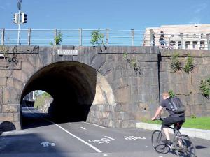 Foto «Baana»: corredor para ciclistas y peatones