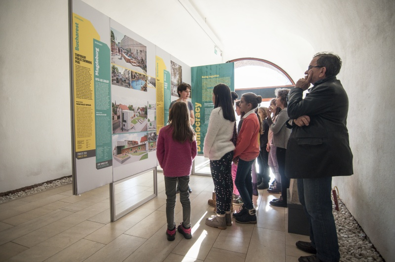 "The Exhibition ""Polis: 7 Lessons from the European Prize for Urban Public Space"" to Be Shown in the Romanian City of Timisoara"